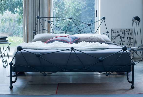 Orbital Wrought Iron Beds