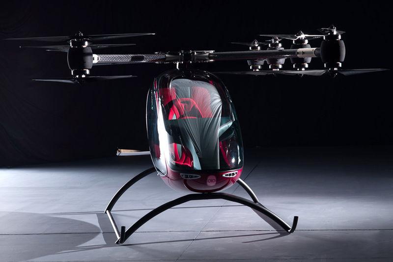 Autonomous Two-Passenger Drones