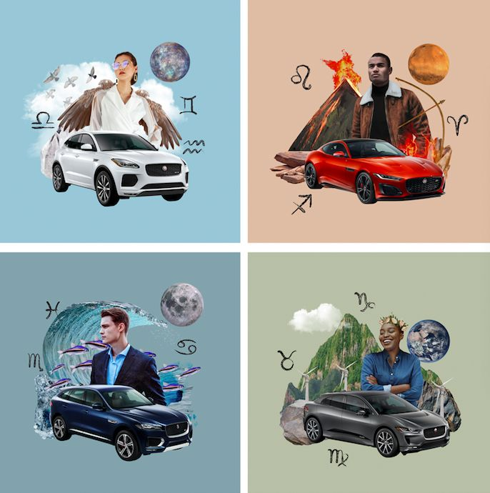 Astrology-Themed Luxury Car Ads