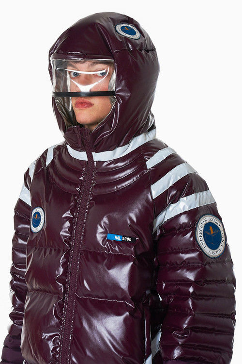 Spacesuit-Inspired Down Jackets