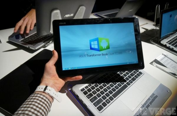 Dual Operating System Tablets