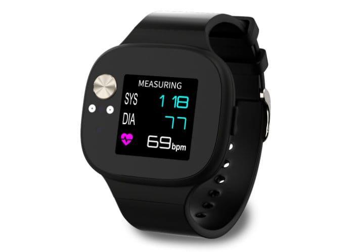Blood Pressure-Monitoring Smartwatches