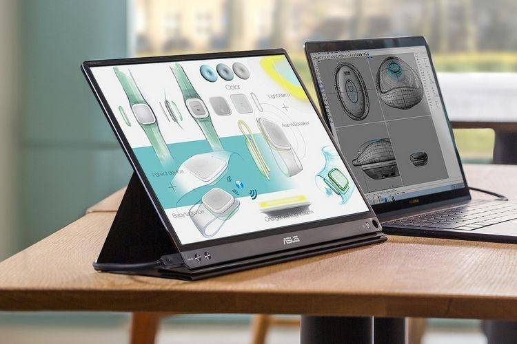 Portable USB Monitor Displays