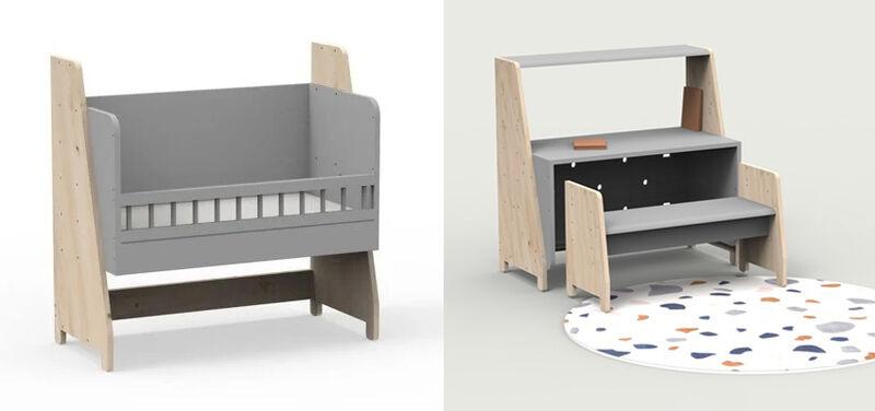 Evolving Childhood Furniture