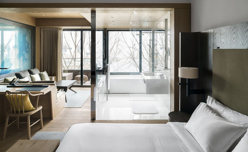 Serene Luxury Hotel Designs