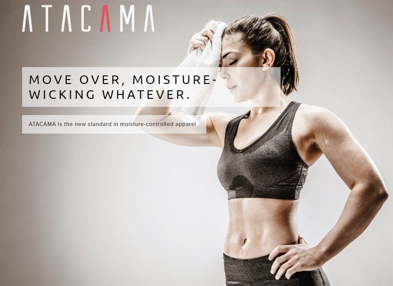 Moisture-Controlling Athletic Wear