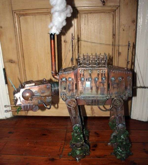 Iconic Steam-Powered Robots