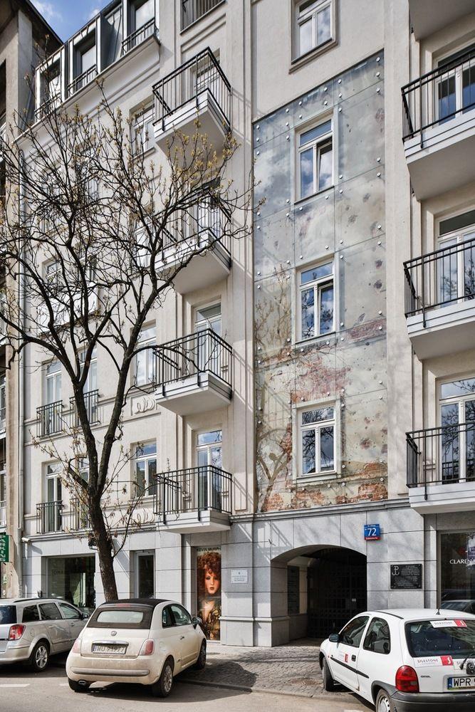 Encased Apartment Facades