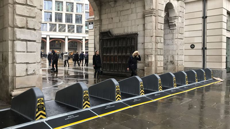 Anti-Terror Barriers