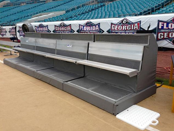 Temperature-Controlled Athletic Benches
