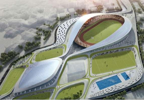 Figure Eight Football Stadiums