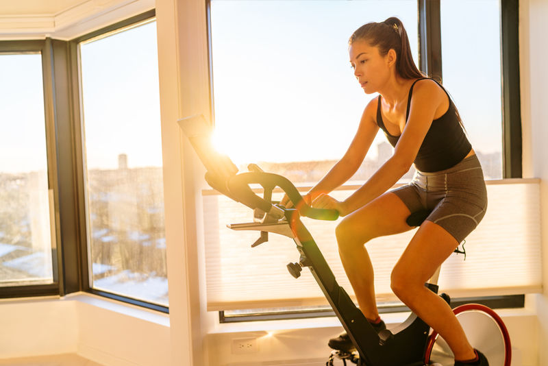 At-Home Cycling Sessions