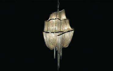 Shimmering Sea-Worthy Chandeliers