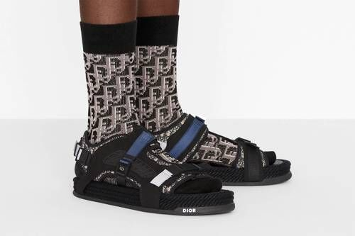 Strong Patterning Luxe Sandals