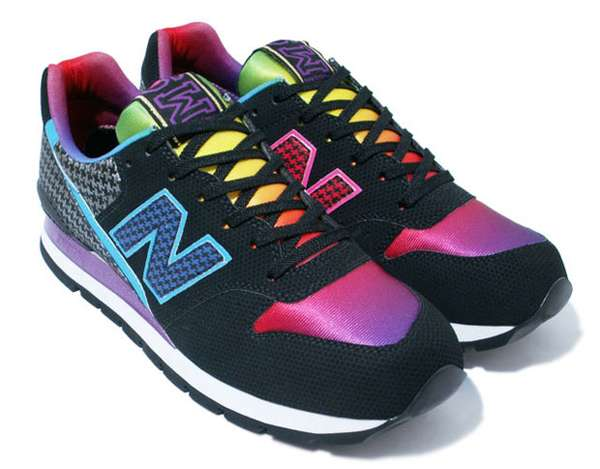 Rainbow Sneakers: Atmos and New Balance