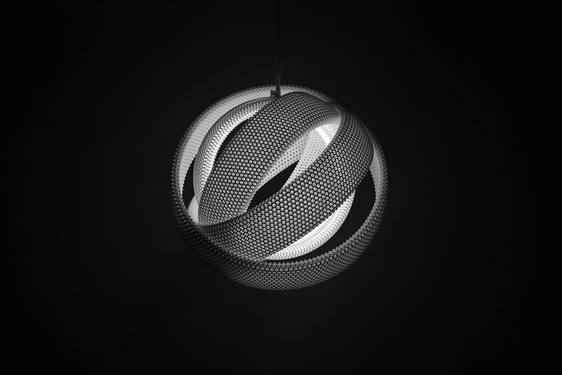 Customizable Infinity Loop Lighting
