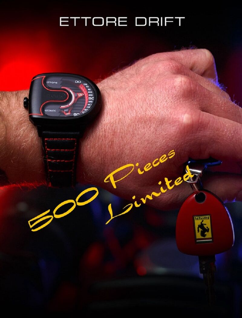 Supercar-Inspired Luxury Watches