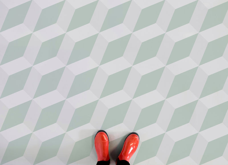 Illusive 3D Flooring Patterns