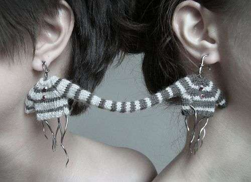Shareable Conjoined Earrings