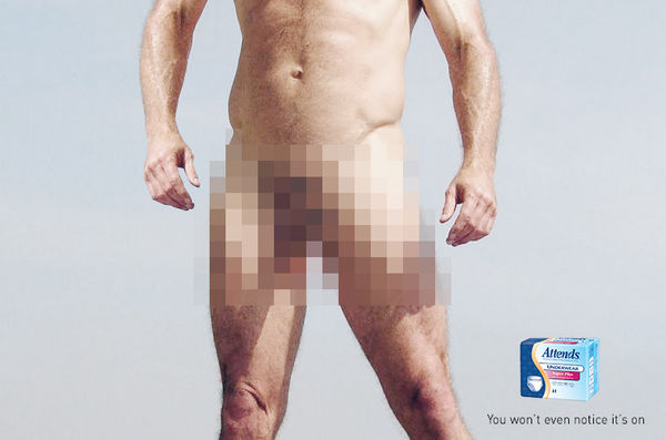 Censored Adult Diaper Ads
