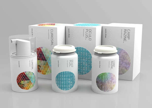 Embossed Pharmaceutical Branding