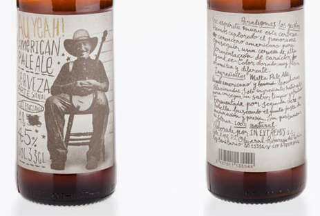 Doodled Booze Branding