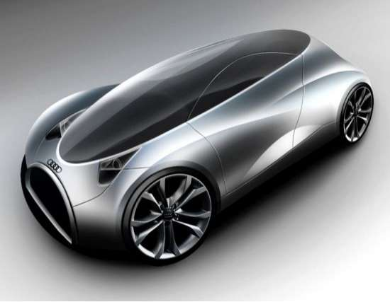 Ergonomic Eco Concept Cars Audi 2 Seater