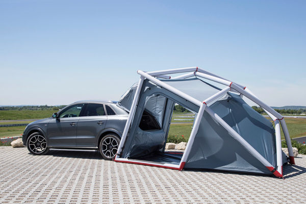 Inflatable Auto C&ers & Inflatable Auto Campers : Audi Q3 Camping tent