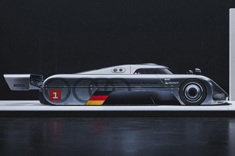 Dystopian Racer Vehicle Concepts