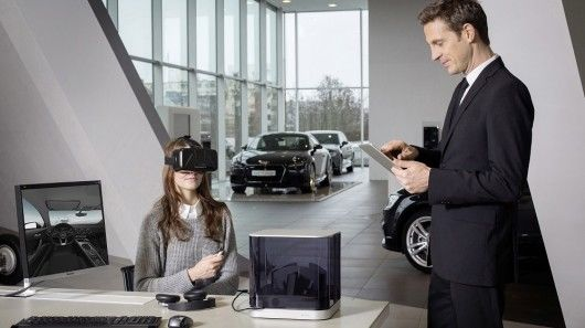 Automobile Virtual Reality Headsets