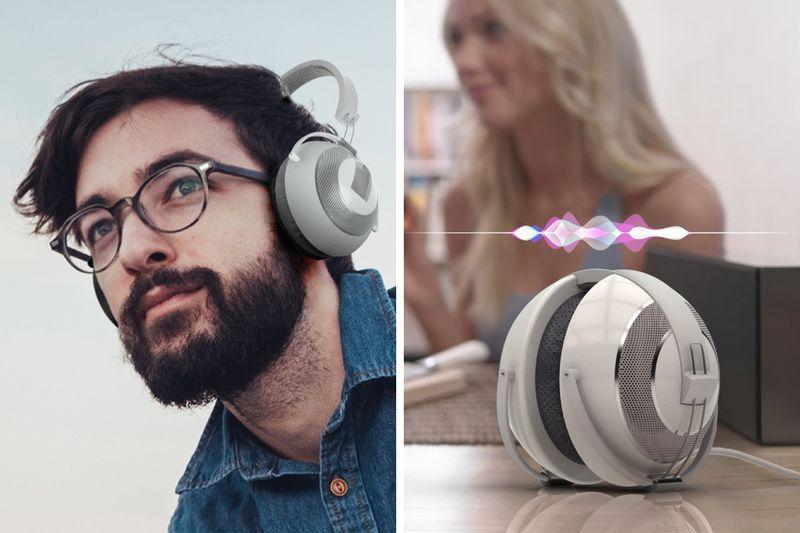 Voice Assistant Headphone Speakers