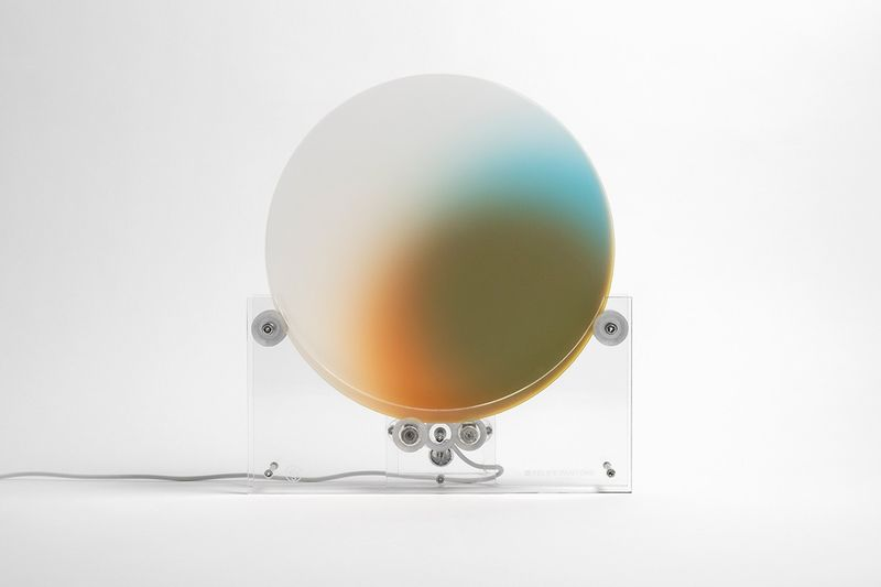 Colorful Kinetic Sculptures