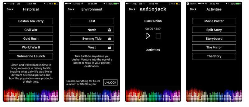Visual-Free Audio Films