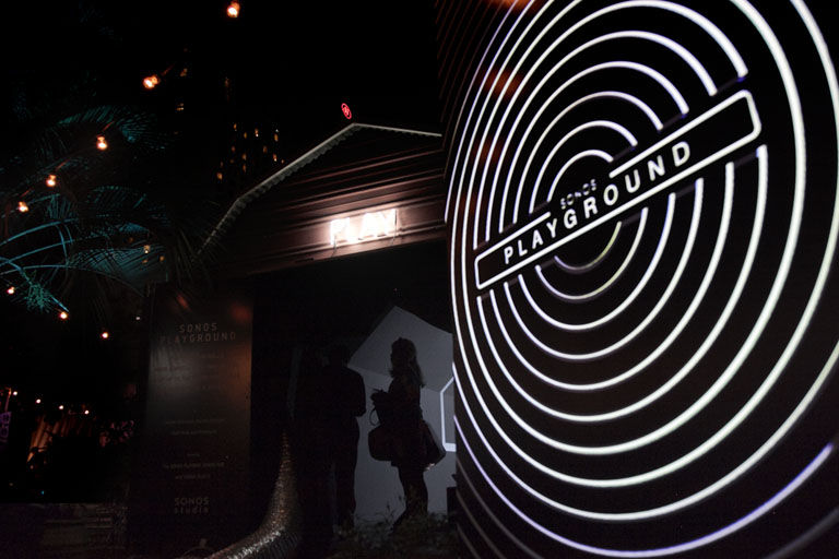 Immersive Audio-Visual Installations