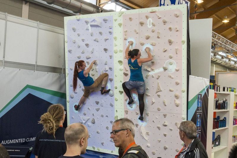 Gamified Ar Climbing Walls Augmented Climbing Wall