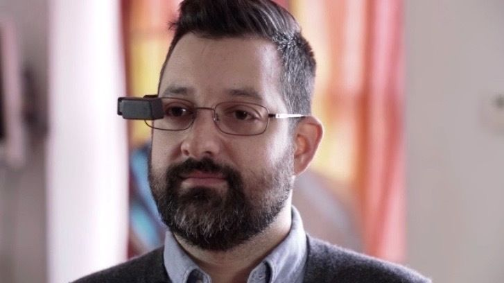 Augmented Reality Display Eyewear