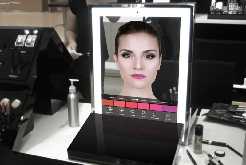 Connected Makeup Mirrors