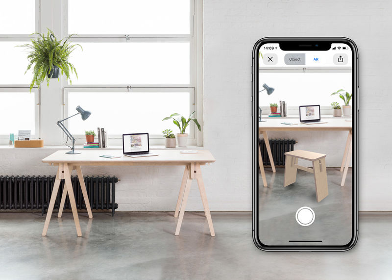 Augmented Reality Online Shopping