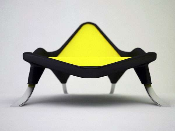 Amphibian-Inspired Furniture