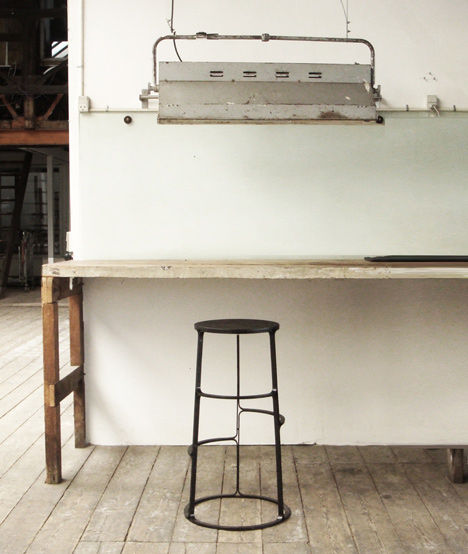 Multi-Footrest Bar Stools