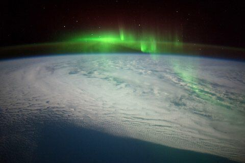 Astronaut-Filmed Aurora Videos