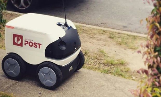 Parcel-Delivering Robots