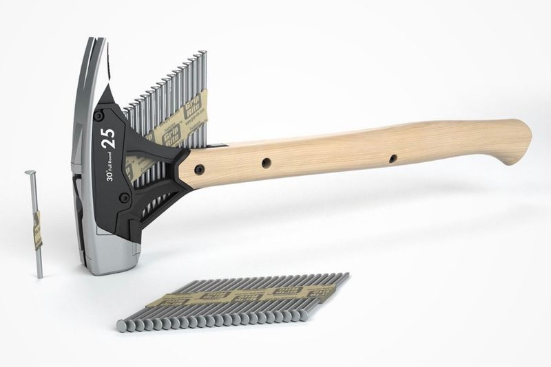 Efficient Nail-Packed Hammers