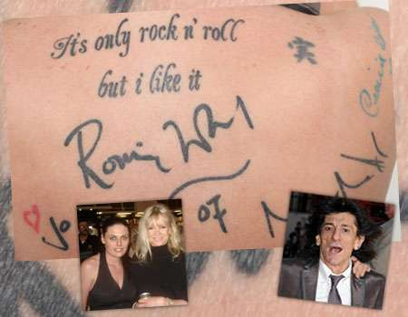Autograph Tattoos: Permanent Inked Celebrity Signatures