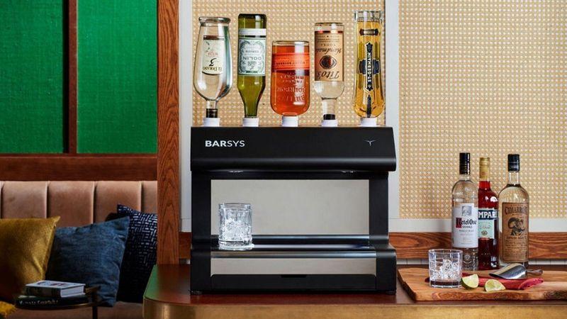 Robotic Cocktail Mixers