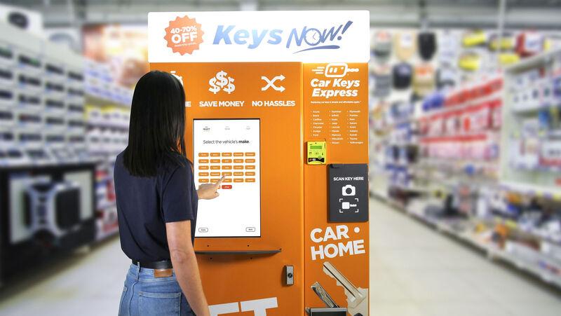 Car Key Vending Machines