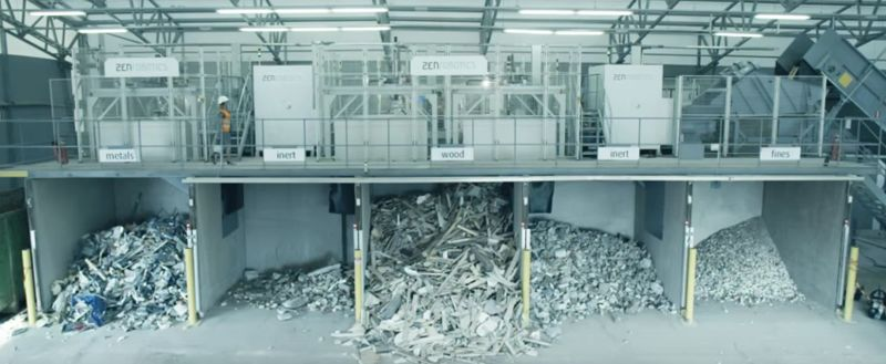 Robot-Run Recycling Plants