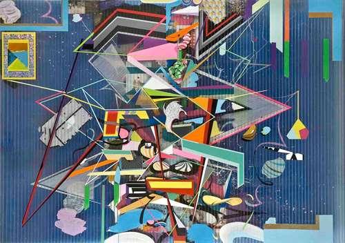 Modern Art Collages