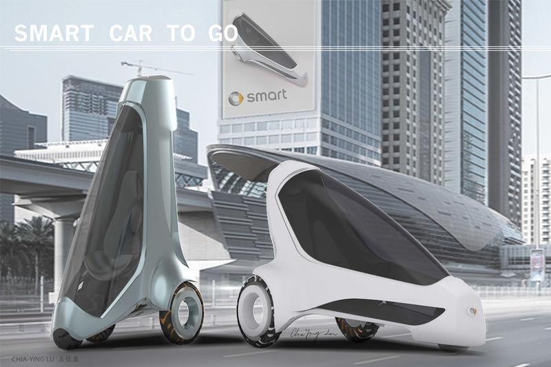 Space-Saving Urban Vehicles