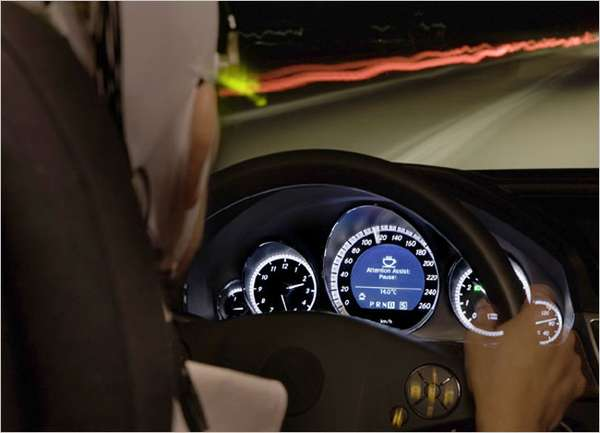 Futuristic Car Dashboards
